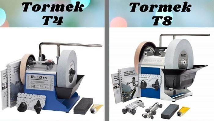 Tormek T4 vs T8