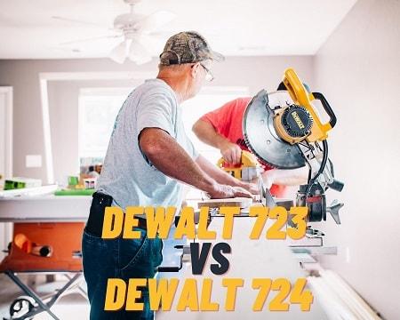 DeWALT DWX723 vs DWX724